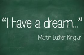 Dr. King's ideas go beyond the Civil Rights Movement.